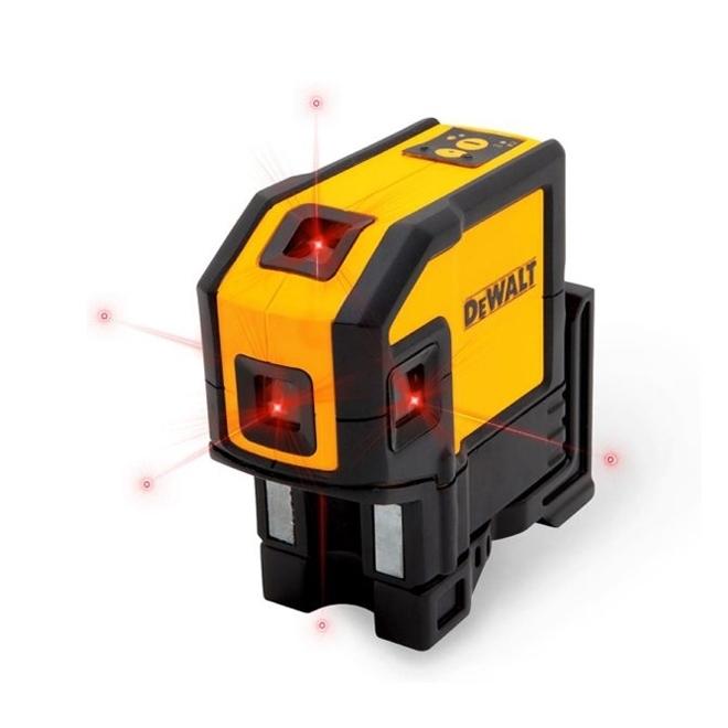 تراز لیزری 5 نقطه دیوالت مدل DW0851